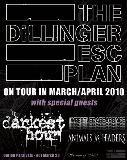the new generation of metal gods Darkest Hour, Dillinger Escape Plan @ Ottobar Tonight