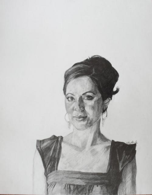 fitz portrait megan Baltimore Portrait: New Drawings by Erin Fitzpatrick @ UB Tonight