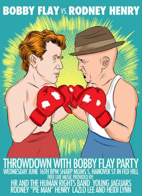 dangerously delicious throwdown Throwdown Viewing Party, Live Music @ Mums Tonight