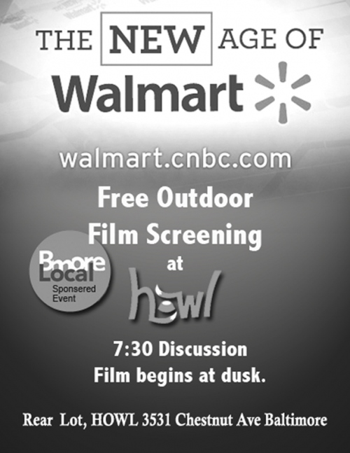 new age of walmart flyer page New Age of Wal Mart @ Howl Tonight