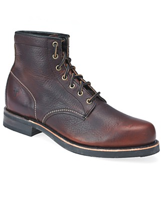 frye arkansas mid lace boots The Best Mens Boots Under $200