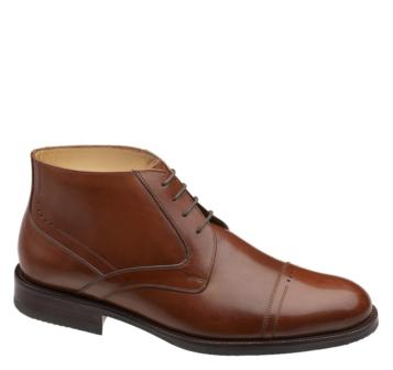 johnston murphy brinley cap toe boots The Best Mens Boots Under $200