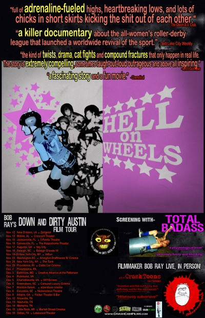 hell on wheels Bob Rays Down and Dirty Austin Film Tour @ Creative Alliance Tonight