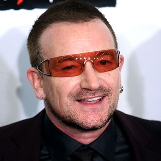bono How to Wear Sunglasses