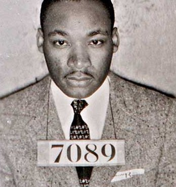 mlk mug shot Today is Martin Luther King Day