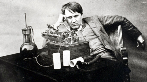 thomas edison In Praise of the Workbench