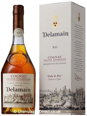 delamain pale  dry xo cognac The Five Best Bottles of Liquor to Give as a Gift
