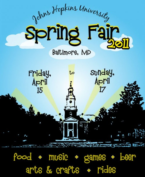 jhu spring fair A Ton of Music in Baltimore Tonight