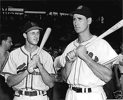 stan musial ted williams all star game The Chop is in the Loss Column