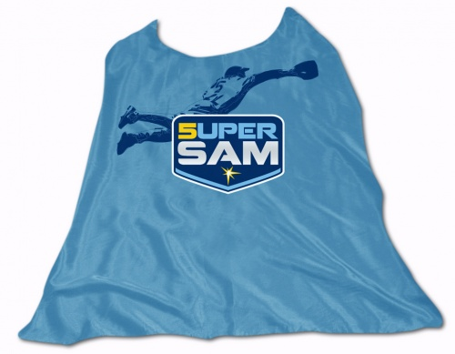 super sam fuld cape Super Sam Fuld Cape Day @ Tropicana Field
