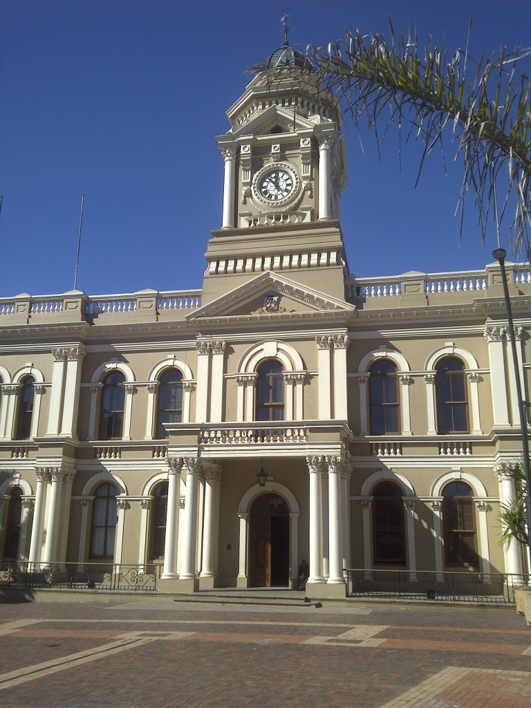Port Elizabeth SA city hall e1318006423271 768x1024 Postcard from South Africa