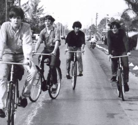 beatles on bicycles The Chop Goes Car Free