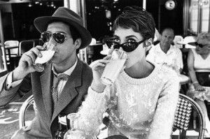 A visual approximation of the chop daydrinking with Christy Turlington.