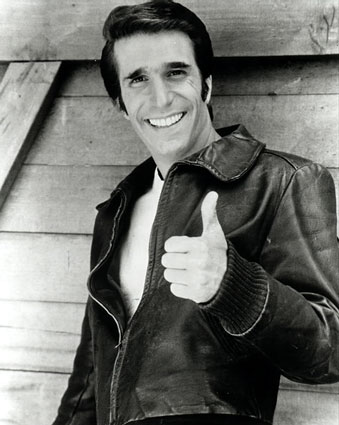 fonzie henry winkler happy days Whats Your Trademark?