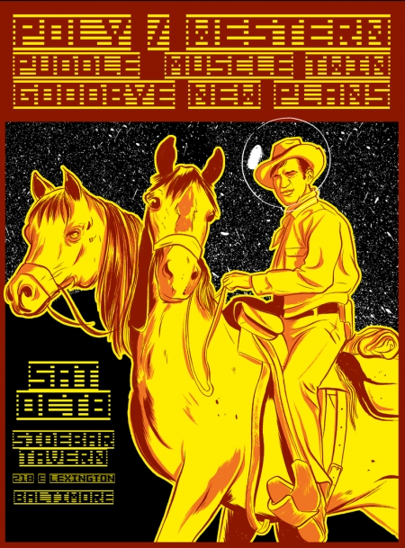 polywestern Puddle, Poly/Western @ Sidebar Tomorrow
