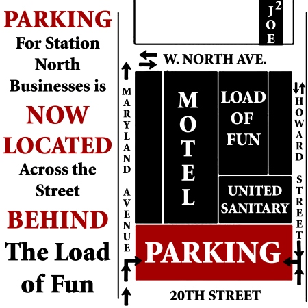 station north Hipster Parking Lot: Parking Info for Station North and Downtown Clubs