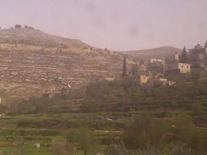 Some little village or kibbutz or something.