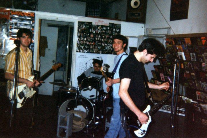 Blank plays Reptilian Records 1995