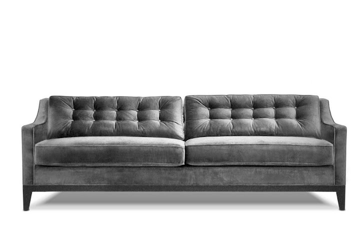 The sofa we bought from Pad Furniture.