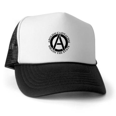 abolish capitalism trucker hat It Could Be Worse: Out of Town Fans Invade Camden Yards Part IV