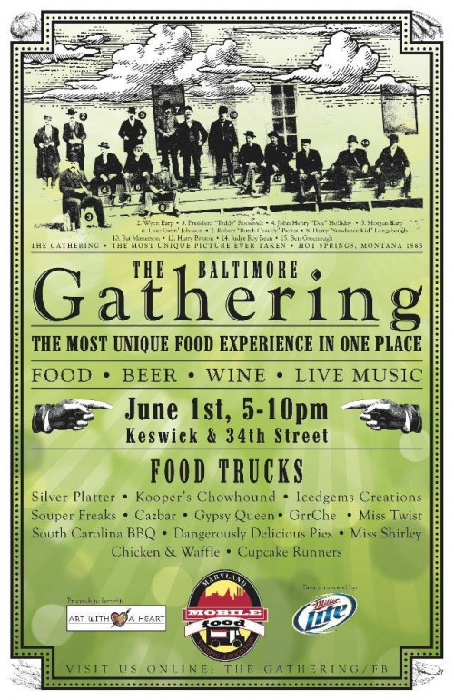 food trucks e1338406694399 The Gathering @ Keswick Castle Tonight