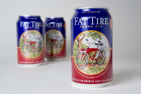 New Belgium Fat Tire Cans The Summer of Good Canned Beer