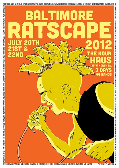 Ratscape Baltimore Ratscape @ Hour Haus This Weekend