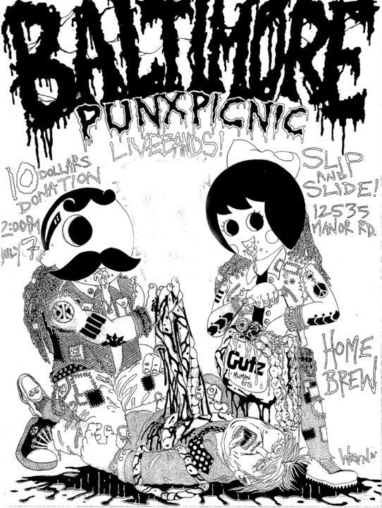 punx picnic1 East by Easteast 