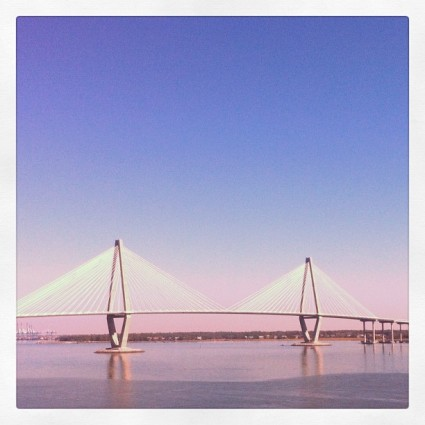 The Ravenell Bridge in Charleston, SC.