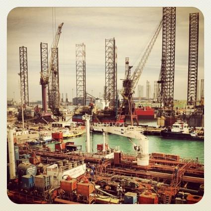 Asry shipyard, Bahrain.