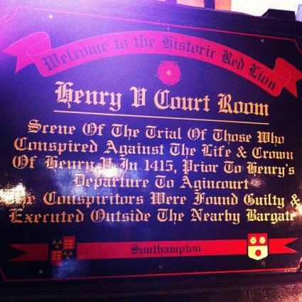 Red lion pub, southampton, England