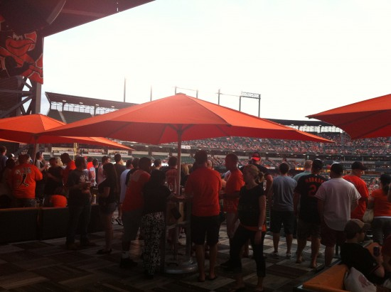 How To Buy Roof Deck Bar Stool Seats At Camden Yards The Baltimore Chop