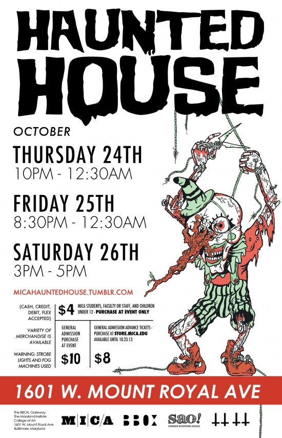 mica haunted house