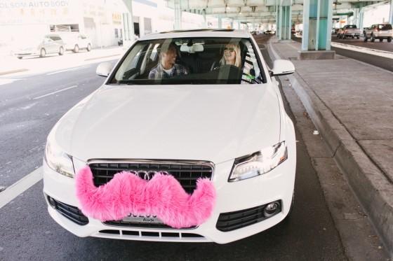White Audi Pic