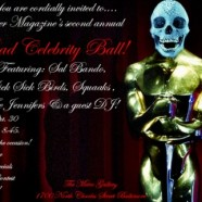Gutter Magazine's Dead Celebrities Ball, CA Lantern Parade Tonight