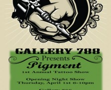 Pigment Opening @ Gallery 788 Tonight