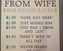 The Bar Telephone
