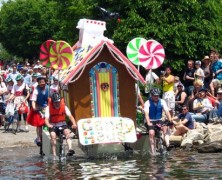Flowermart, Kinetic Sculpture Race, MD Film Festival Today