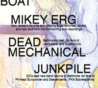 Mikey Erg, Dead Mechanical & More @ Charm City Art Space Tonight