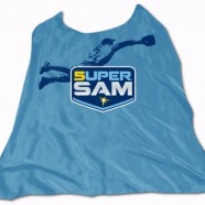 Super Sam Fuld Cape Day @ Tropicana Field